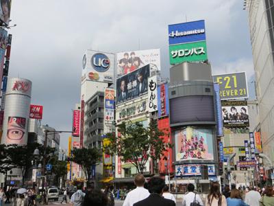 10月2日(火)今日の渋谷109前交差点_b0056983_1357055.jpg