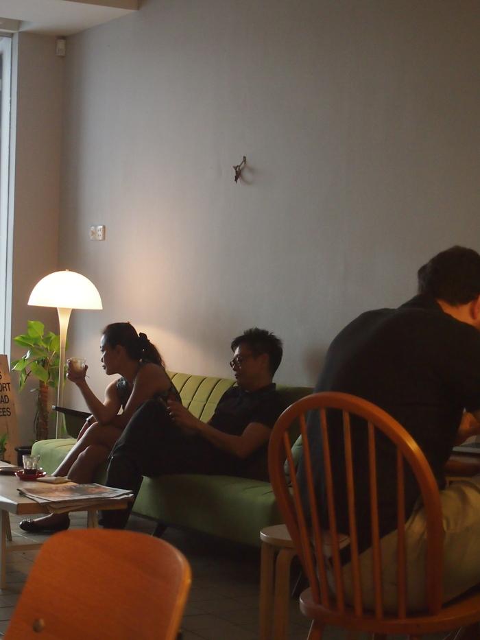 2012 6月 シンガポール 21  Tanjong Pagar のカフェ The Plain_f0062122_7342243.jpg