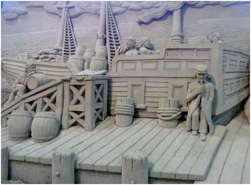 砂の美術館    「 英国編 」 _b0104092_1135252.jpg