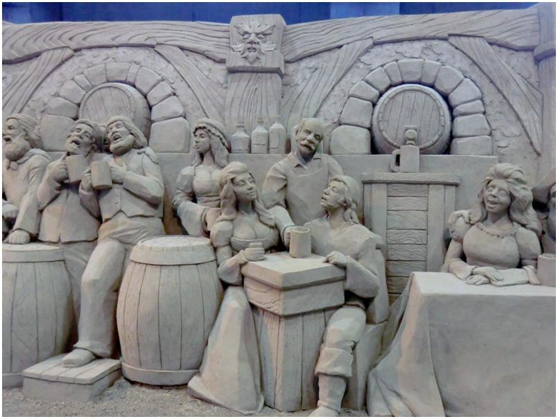 砂の美術館    「 英国編 」 _b0104092_1136397.jpg