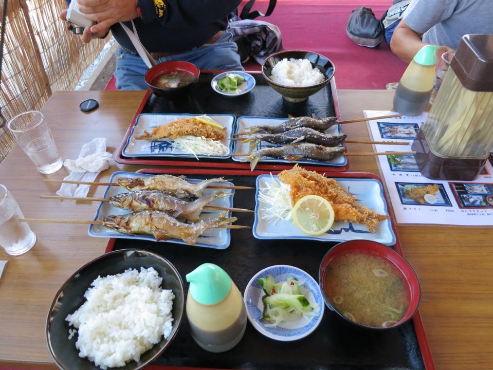 【喰】アユと餃子と林道と?_f0141609_23251732.jpg