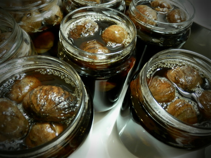 2012年「栗の渋皮煮」作り、3日目☆_a0125419_1322150.jpg