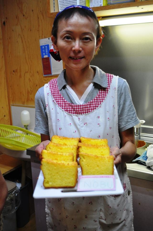 エビフライとかぼちゃコロッケ弁当~♪。&今日のお菓子教室_b0087822_17361835.jpg
