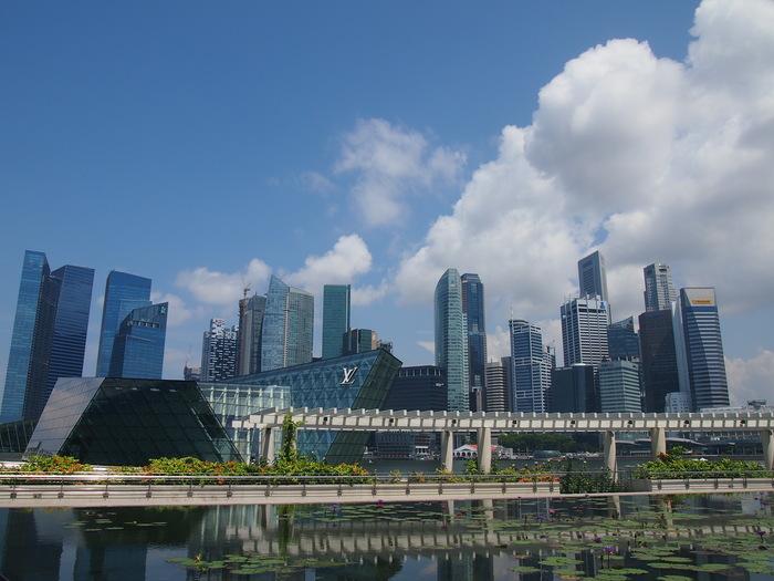 2012 6月 シンガポール 22  Marina Bay Sands の中を散歩_f0062122_9353039.jpg