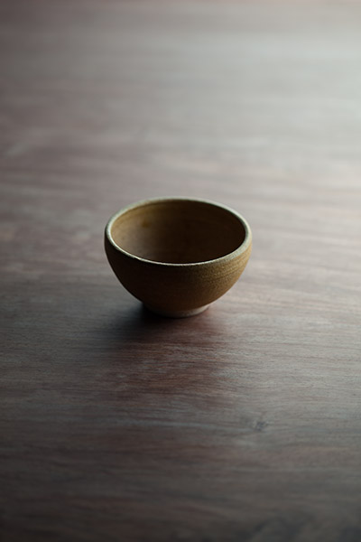 2012/10/04 黄瀬戸の茶碗を頂いたので_b0171364_9554129.jpg