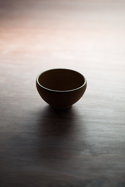 2012/10/04 黄瀬戸の茶碗を頂いたので_b0171364_9564231.jpg