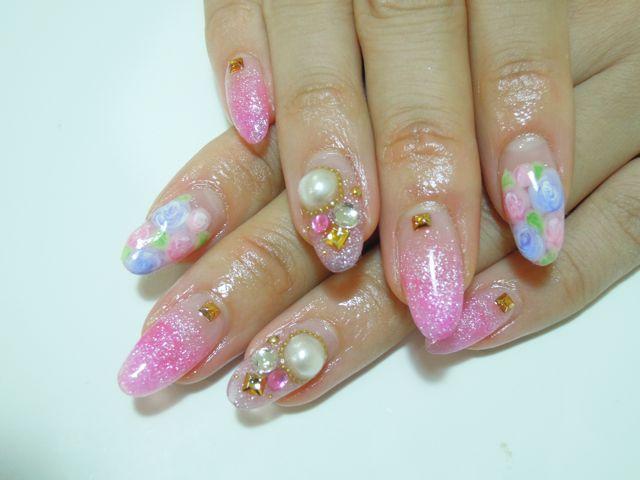 Pink Nail_a0239065_1953535.jpg