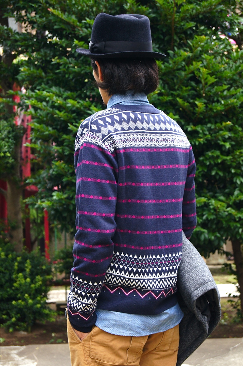 """White Mountaineering & COURT ROLL\"" Knit Item!!_f0020773_2029432.jpg"