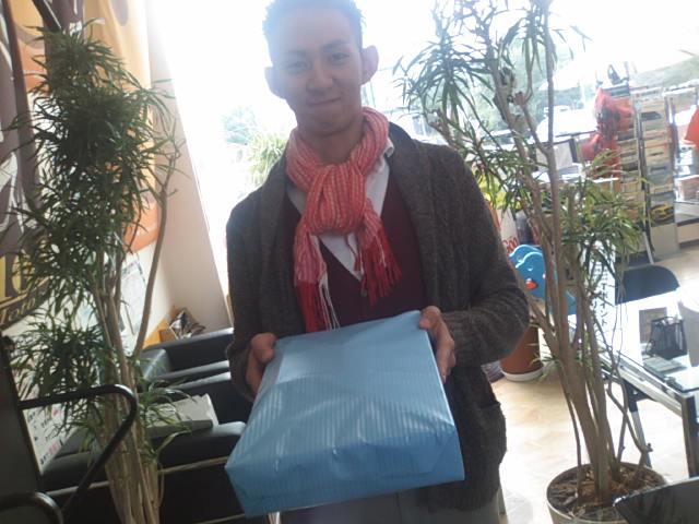 ヤンマー Birthdayプレゼントをくれる(^^)_b0127002_131446100.jpg