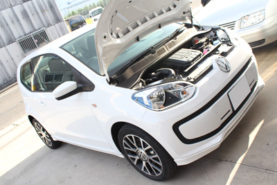 VW UP! 岡山 hid led取付 smart luxi