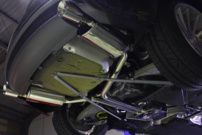 AUDI A5 STaSISステイシスチャレンジマフラー 岡山