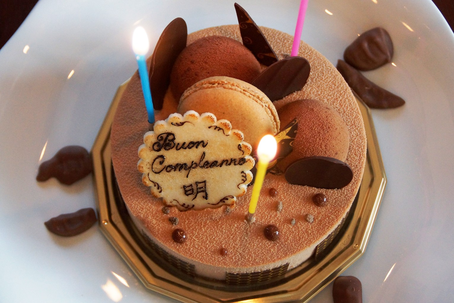 誕生日祝いに手作りちらし寿司とル リスのケーキfrom芽ぶきさん~11月に二人展「あきたま。」@啓祐堂_f0006713_2147110.jpg