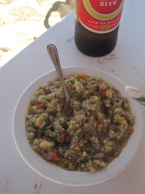ギリシャのお料理は案外とてもおいしかったです。_e0131324_23381219.jpg