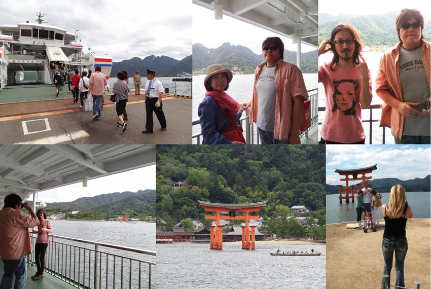 宮島へ向かうフェリー_d0119642_1032640.jpg