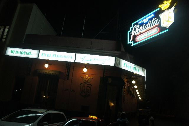キューバ (76) ハバナ最後の夜は『Floridita』でダイキリを・・・_c0011649_0345342.jpg