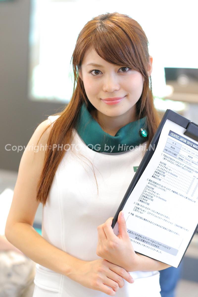 2012/10/7 Sat. CEATEC2012 コンパニオン_b0183406_2071223.jpg