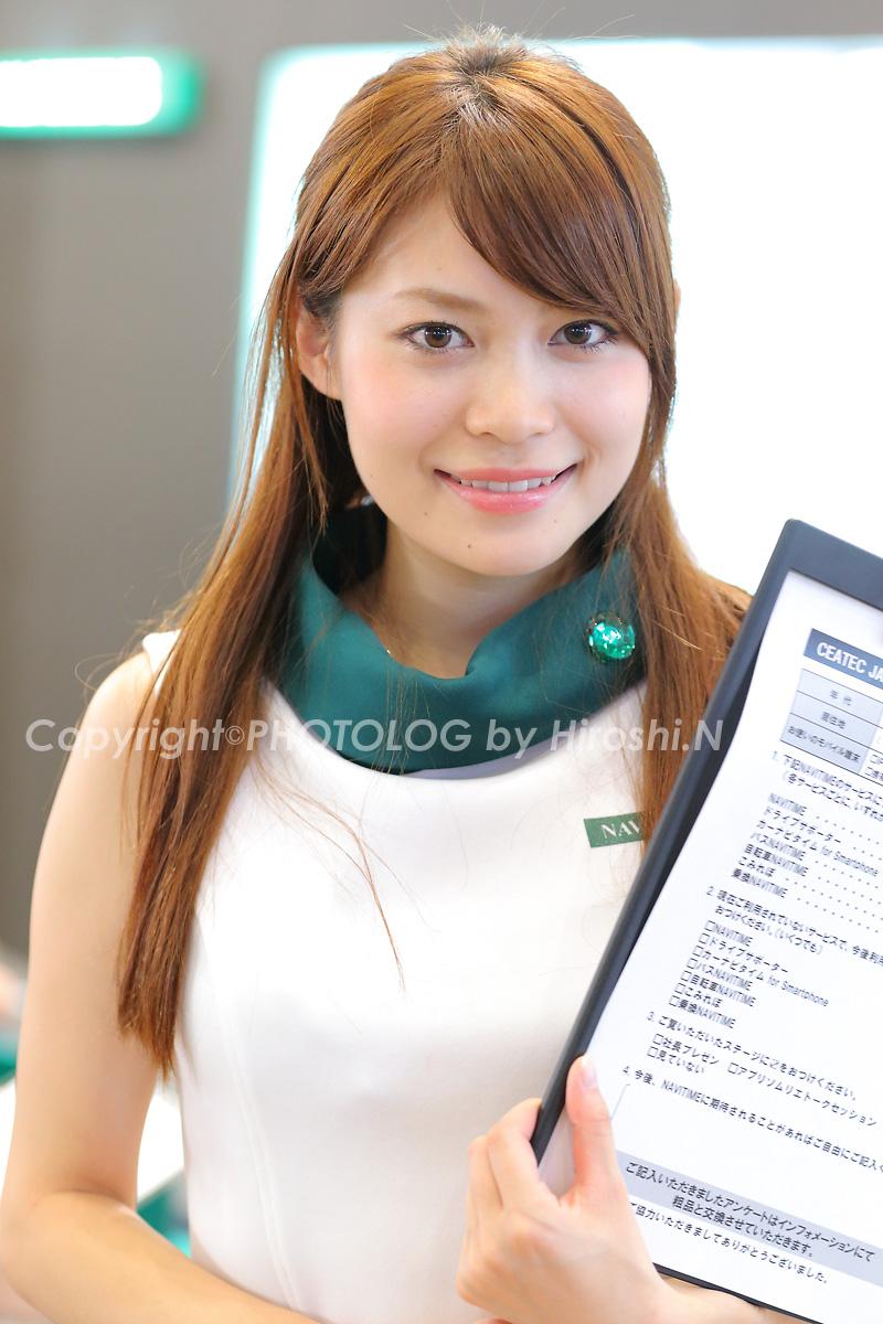 2012/10/7 Sat. CEATEC2012 コンパニオン_b0183406_207189.jpg