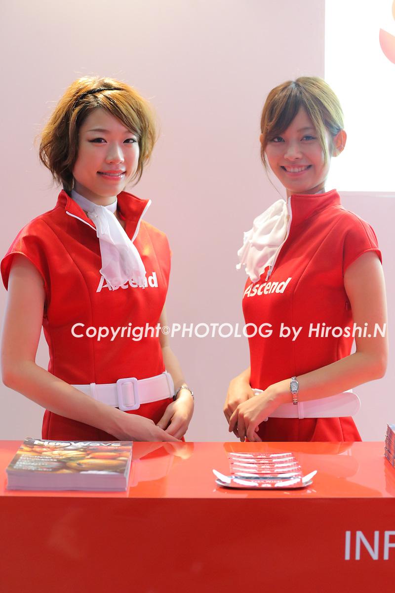 2012/10/7 Sat. CEATEC2012 コンパニオン_b0183406_209318.jpg