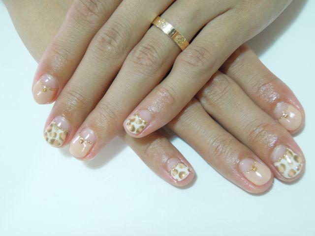 Pickup Nail〜Beige_a0239065_124203.jpg