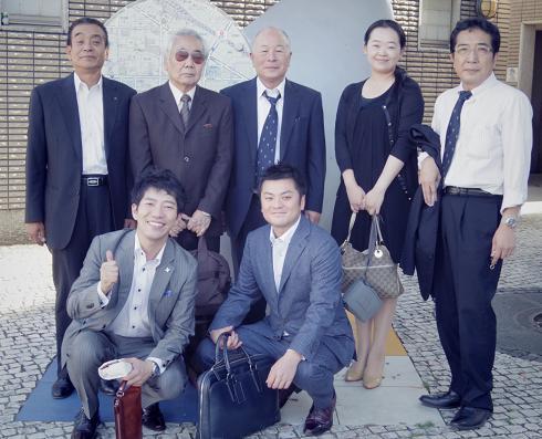 タビオ・越智会長と (豊の国商人塾)_f0017696_1781925.jpg