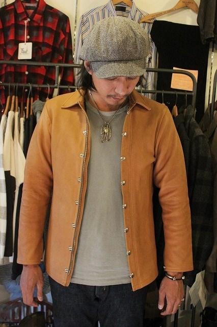C.M.M Leather Shirt_d0121303_1626321.jpg