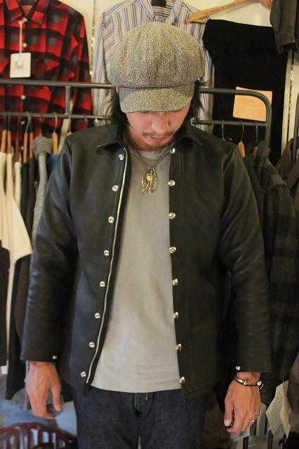 C.M.M Leather Shirt_d0121303_16264149.jpg