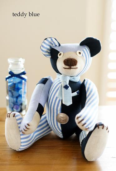 teddy preppy blue  テディ プレッピー ブルー_e0253364_9243865.jpg