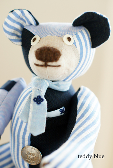 teddy preppy blue  テディ プレッピー ブルー_e0253364_925179.jpg