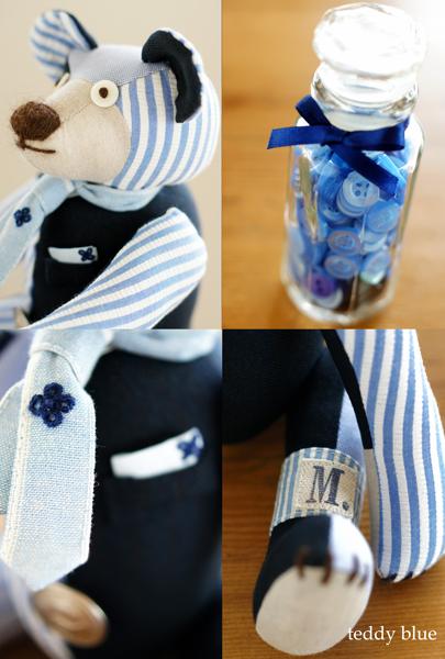 teddy preppy blue  テディ プレッピー ブルー_e0253364_925638.jpg