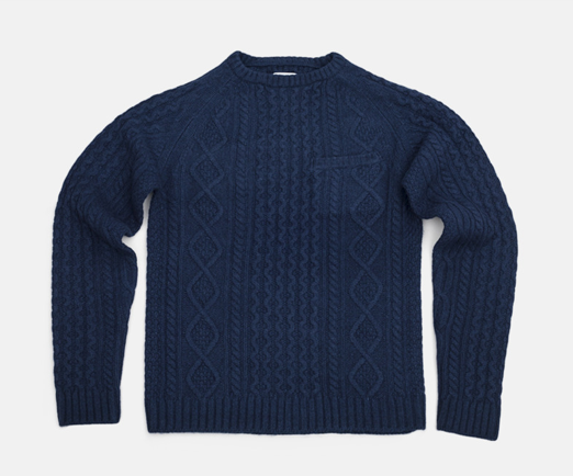 SATURDAYS SURF NYC CABLE KNIT CREW_f0111683_1233382.png