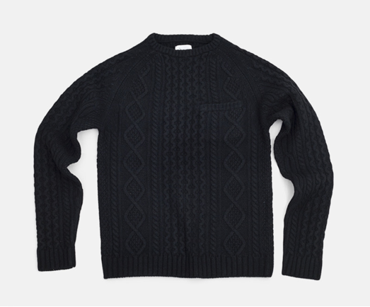 SATURDAYS SURF NYC CABLE KNIT CREW_f0111683_1233475.png