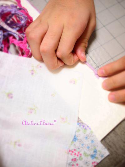 ちひろの夏休み自由課題 『妖精の国のBOX』製作過程⑪_a0157409_8143375.jpg