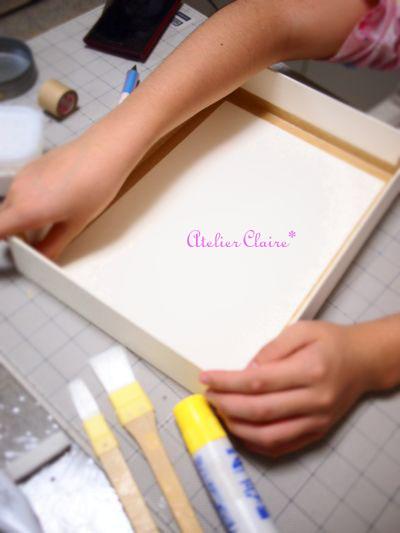 ちひろの夏休み自由課題 『妖精の国のBOX』製作過程⑪_a0157409_831287.jpg