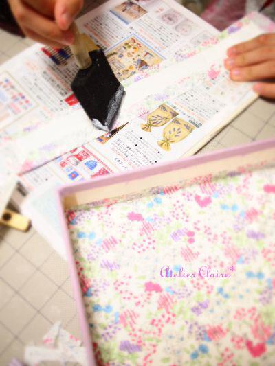 ちひろの夏休み自由課題 『妖精の国のBOX』製作過程⑪_a0157409_85651.jpg