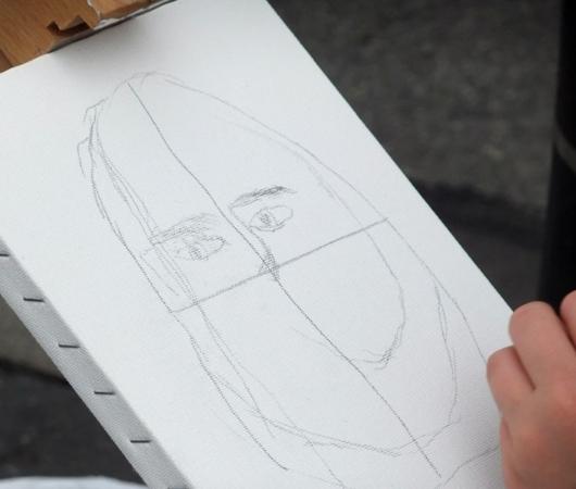 ニューヨークの街角アート実験 I PAINT YOU. YOU PAINT ME._b0007805_23215916.jpg