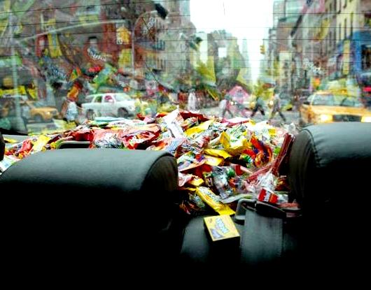 希望を乗せたニューヨークのタクシー CandyCabNYC_b0007805_9312044.jpg