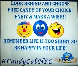 希望を乗せたニューヨークのタクシー CandyCabNYC_b0007805_931859.jpg