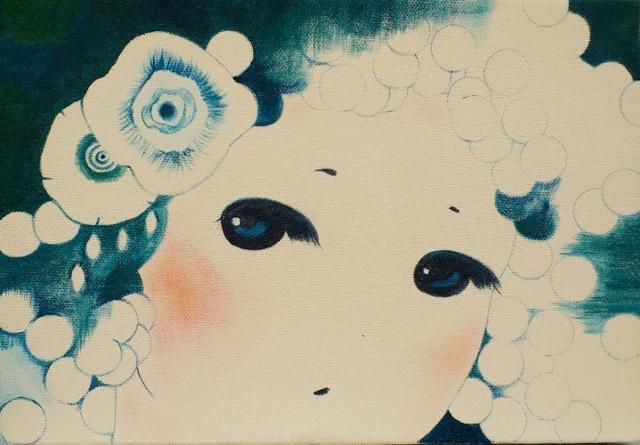 2012/11/21-26  進川桜子展 永遠の少女達 - 記憶の中の肖像- 【絵画】_e0091712_1515301.jpg