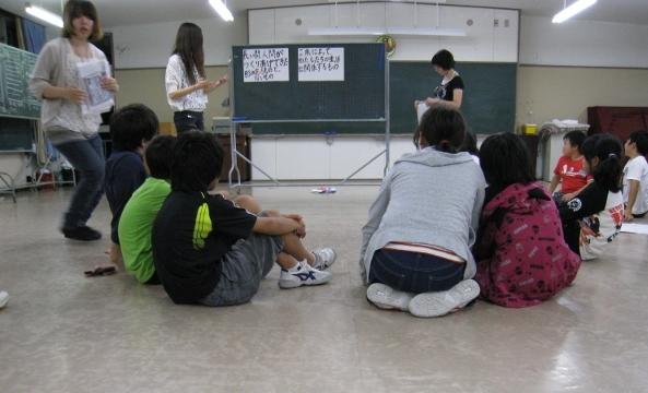 青少年研修センターにおける「ふれあい合宿」にて、2つのワークショップを行いました。_c0167632_16162199.jpg