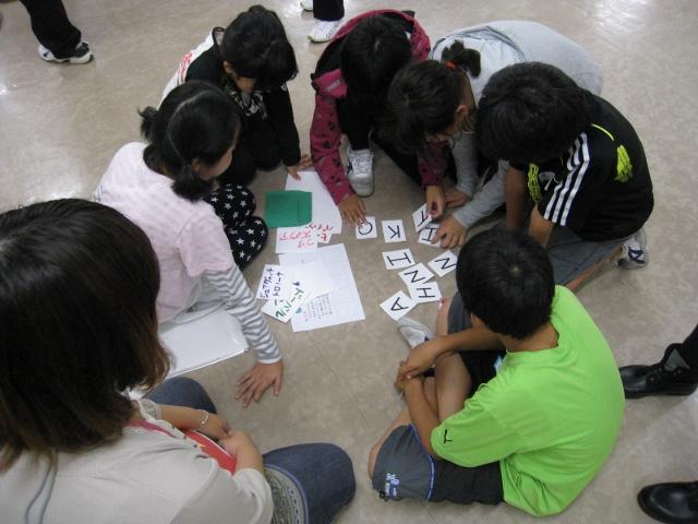 青少年研修センターにおける「ふれあい合宿」にて、2つのワークショップを行いました。_c0167632_16174495.jpg