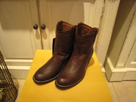 お待たせした JACA ブーツです。_c0227633_0545977.jpg