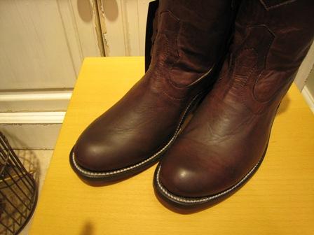お待たせした JACA ブーツです。_c0227633_0561032.jpg