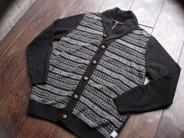NEW : Barbour The Steve McQueen™ Collection 2012 F/W [PART-2] [Chase Fairisle Cardi] !!_a0132147_0284121.jpg