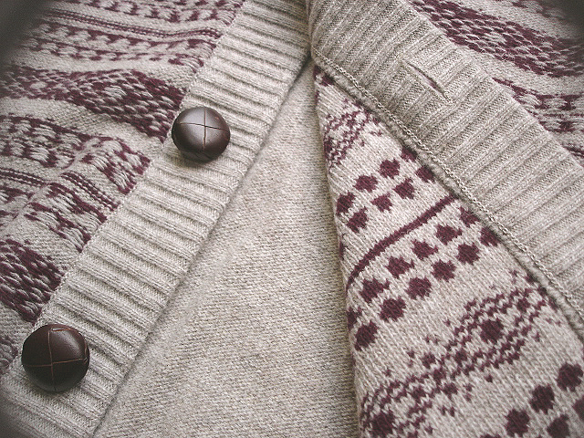 NEW : Barbour The Steve McQueen™ Collection 2012 F/W [PART-2] [Chase Fairisle Cardi] !!_a0132147_0295736.jpg