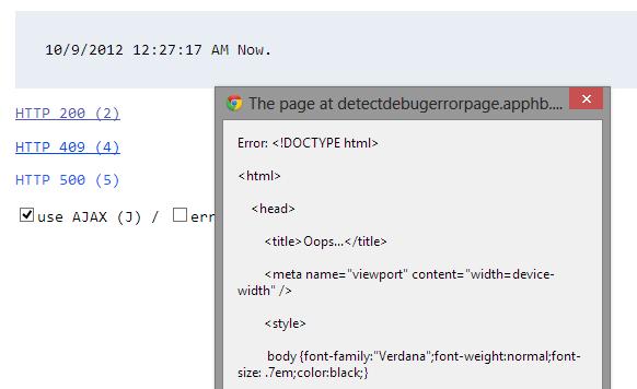 AJAX 要求でサーバー側で例外発生したら、その例外情報ページをブラウザに表示する_d0079457_9333027.png