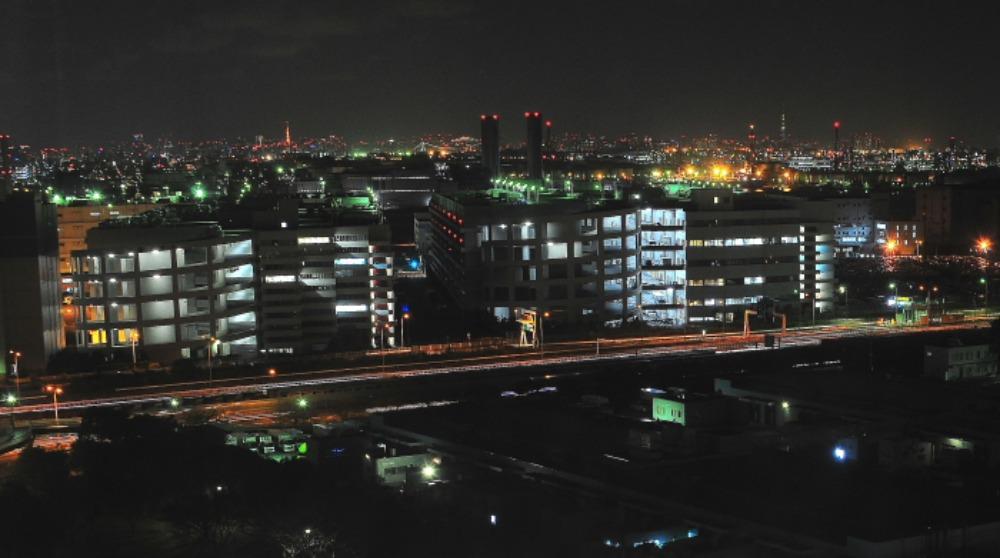 東扇島埠頭から観た夜景_a0150260_0234734.jpg