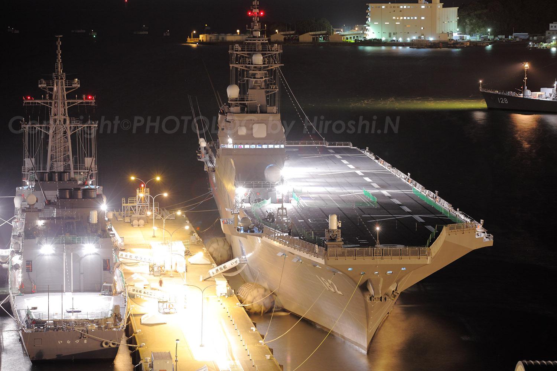 2012/10/10 Wed. JMSDF Yokosuka 電灯艦飾_b0183406_2251545.jpg