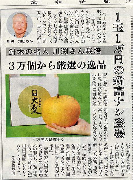 新聞記事から(高知新聞/2012年10月10日)_a0051612_1833923.jpg