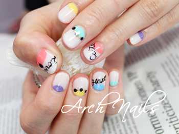 Colorful  nail_a0117115_23122466.jpg