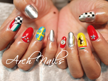 Colorful  nail_a0117115_23131689.jpg